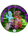 7.5 In the Night Garden Edible Icing or Wafer Birthday Cake Topper